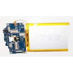 Placa base J805_MAIN_PCB_V1.2 y botones de power y volumen AIRIS TM600