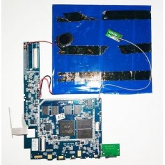 Placa base INET-10F-REV02 y botones e power y volumen WOXTER Tablet PC 101 Cxi