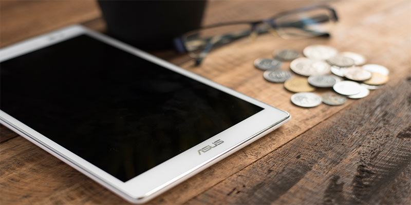 Cambiar la pantalla de la tablet Asus