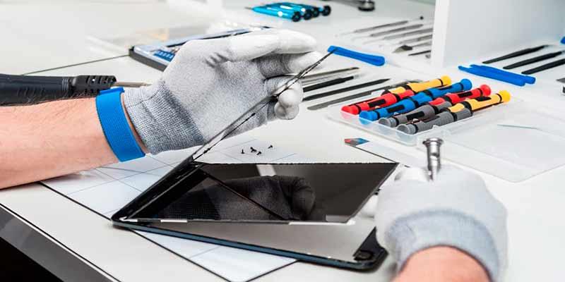 Cómo reparar la pantalla táctil de una tablet