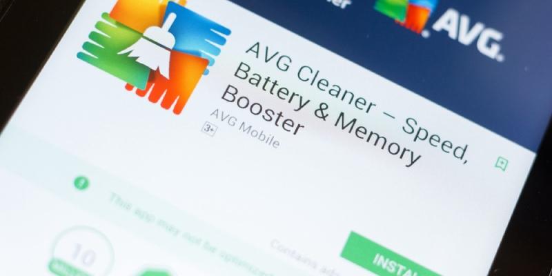 les applications optimisent le nettoyeur avg android
