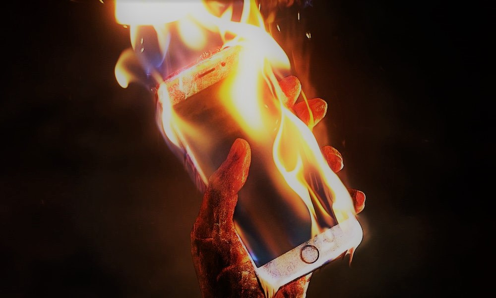 iphone se calienta